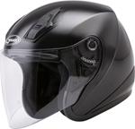 GMAX OF-17 Open-Face Motorcycle Helmet (Gloss Black)