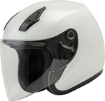 GMAX OF-17 Open-Face Motorcycle Helmet (Pearl White)