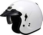 GMAX GM32 Open-Face Helmet W/Sun Shield (Pearl White)
