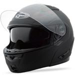 GMAX GM64 Modular Helmet (Flat Black)