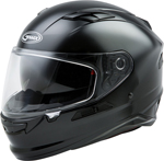 GMAX FF-98 Full-Face Street Motorcycle Helmet w/Drop-Down Sun Visor (Gloss Black)