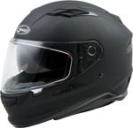 GMAX FF-98 Full-Face Street Motorcycle Helmet w/Drop-Down Sun Visor (Matte Black)