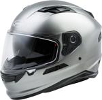 GMAX FF-98 Full-Face Street Motorcycle Helmet w/Drop-Down Sun Visor (Gloss Titanium)