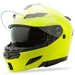 GMAX GM54 Modular Helmet (Hi-Vis Yellow)