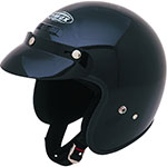GMAX GM2 Open-Face Youth/Kids Helmet (Black)