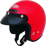 GMAX GM2 Open-Face Youth/Kids Helmet (Red)