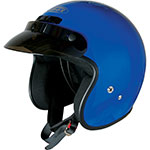 GMAX GM2 Open-Face Youth/Kids Helmet (Blue)