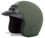 GMAX GM2 Kids Open Face Helmet (Flat Green)