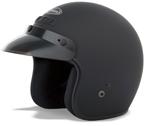 GMAX GM2 Open Face Helmet (Flat Black)