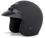 GMAX GM2 Kids Open Face Helmet (Flat Black)