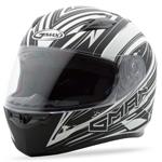 GMAX FF49 Full Face Street Helmet Warp (Flat White/White)