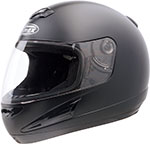 GMAX GM38 Full-Face Helmet (Flat Black)