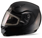 GMAX MD04 Modular Snow Sport Helmet (Black w/ Electric Shield)
