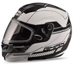 GMAX MD04 Modular Snow Sport Helmet (Flat White/Black)