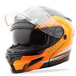 GMAX GM54S Modular Snow Sport Helmet Terrain (Black/Hi-Vis Orange)