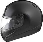 GMAX GM38S Snowmobile Helmet W/Electric Shield (Black)