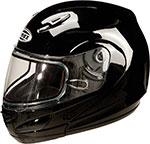 GMAX GM44S Modular Snowmobile Helmet (Black)