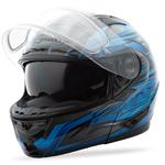 GMAX GM64S Modular Snow Sport Helmet Carbide (Black/Blue)