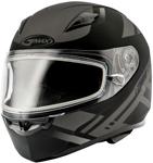GMAX FF49 BERG Full-Face Snow Helmet (Flat Black/Silver)
