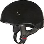 GMAX GM45 Naked Motorcycle Half Helmet (Gloss Black)