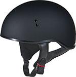 GMAX GM45 Naked Motorcycle Half Helmet (Flat Black)