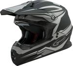 GMAX MX-86 REVOKE MX/Motocross/Off-Road Motorcycle Helmet (Matte Black/Silver)