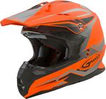 GMAX MX-86 REVOKE MX/Motocross/Off-Road Motorcycle Helmet (Matte Orange/Black)
