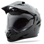 GMAX GM11 Dual Sport Adventure Helmet (Black)