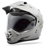 GMAX GM11 Dual Sport Adventure Helmet (Titanium)
