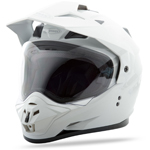 GMAX GM11 Dual Sport Adventure Helmet (White)