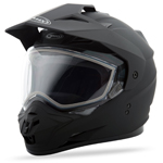 GMAX GM11S Snow Sport Adventure Helmet (Flat Black)