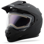 GMAX GM11S Snow Sport Adventure Helmet (Flat Black w/ Electric Shield)