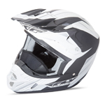 FLY RACING Snow Snowmobile 2017 Kinetic Pro Cold Weather Helmet (Matte White/Black)