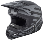 Fly Racing 2018 ELITE Interlace Cold Weather Helmet (Matte Grey/Black)