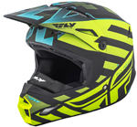Fly Racing 2018 ELITE Interlace Cold Weather Helmet (Hi-Vis/Black)