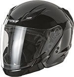 FLY Tourist Modular Helmet (Gloss Black)