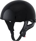 FLY .357 Motorcycle Half Helmet (Gloss Black)