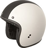 FLY Street - .38 Racer Retro Open Face Motorcycle Helmet (Matte White)
