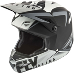 Fly Racing MX Motocross Elite Vigilant Helmet (Matte Black/Grey)