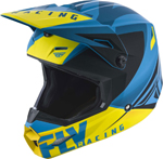 Fly Racing MX Motocross Elite Vigilant Helmet (Gloss Blue/Black)