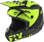 Fly Racing MX Motocross Elite Vigilant Helmet (Matte Black/Hi-Vis)