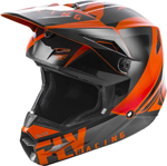 Fly Racing MX Motocross Kids Youth Elite Vigilant Helmet (Gloss Orange/Black)