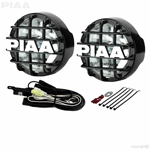 PIAA 510 ATP XTreme White Driving Halogen Lamp Kit (Black) 73516
