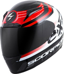 Scorpion EXO-R2000 FORTIS Full-Face Motorcycle Helmet (Black/Red)