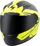 Scorpion EXO-R2000 RAVIN Full-Face Motorcycle Helmet (Matte Neon Yellow)