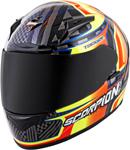 Scorpion EXO-R2000 Tagger Ensenada Full-Face Motorcycle Helmet (Black/Orange)