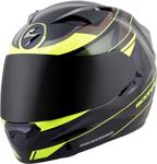 Scorpion EXO-T1200 MAINSTAY Full-Face Motorcycle Helmet (Black/Neon Yellow)