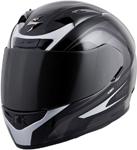 Scorpion EXO-R710 FOCUS Full-Face Motorcycle Helmet (Silver)
