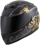 Scorpion EXO-R710 GOLDEN STATE Full-Face Motorcycle Helmet (Black/Gold)