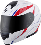 Scorpion EXO-GT3000 SYNC Modular Motorcycle Helmet (Matte Red/White/Blue)